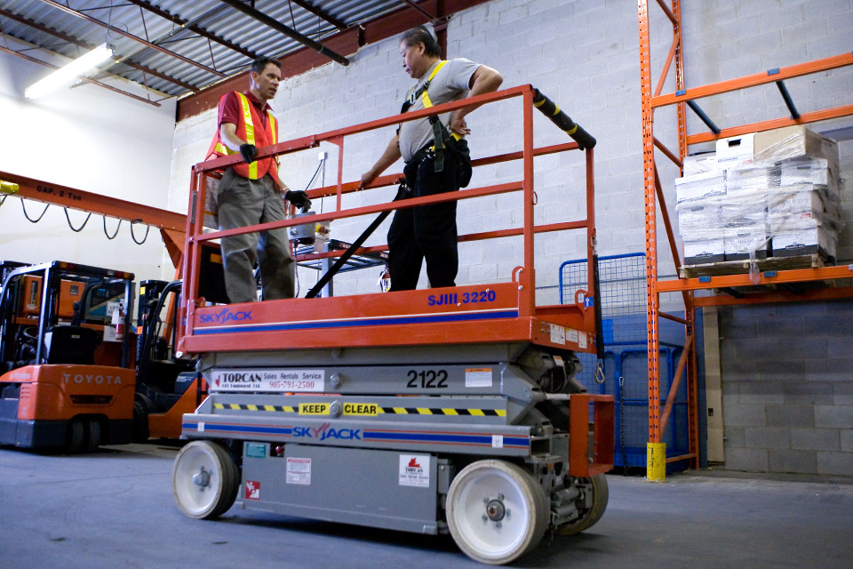 Aerial Work Platform Train The Trainer Forklift Training Courses